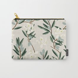 OLIVE BLOOM Carry-All Pouch