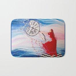 Holding Back Time Bath Mat