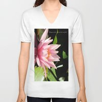 relax V-neck T-shirts featuring Relax by Enri-Art