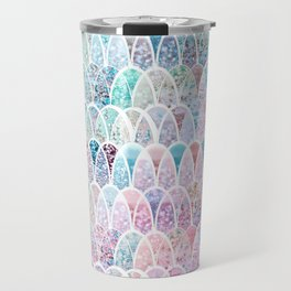 DAZZLING MERMAID SCALES Travel Mug