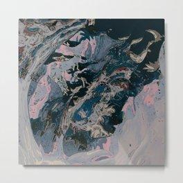 Deep blue seduction Metal Print