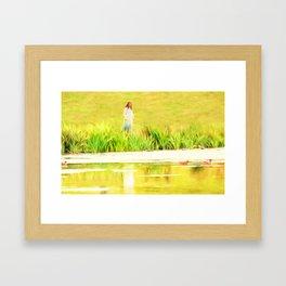 Lakeside Daydreams Framed Art Print
