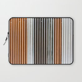 Colored iron corrugated sheets at The Commons BKK Laptop Sleeve