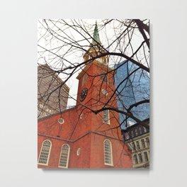 Old South Meeting House Metal Print
