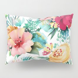 Bright and Bold Flowers Pillow Sham