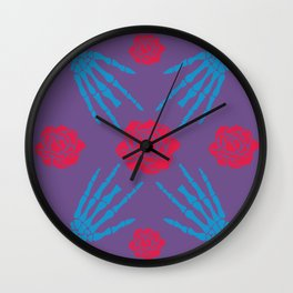 blooms&bones Wall Clock