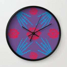 blooms&bones Wall Clock