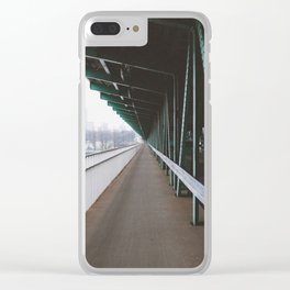 Most Gdański Clear iPhone Case