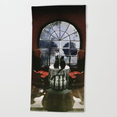 Room Skull Beach Towel