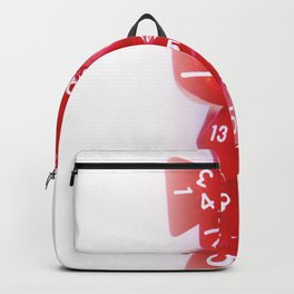 Red Gaming Dice Backpack