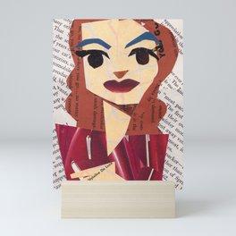 Joan Crawford #PrideMonth Collage Portrait Mini Art Print