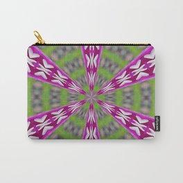 Kaleidoscope Dahlia Carry-All Pouch