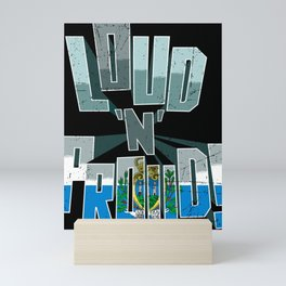 San Marino Pride Loud N Proud Mini Art Print