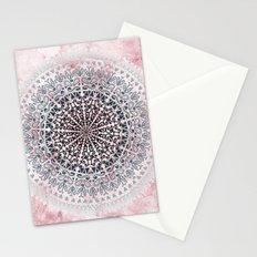 ICELAND MANDALA IN PINK Stationery Cards