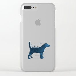 Beagle Clear iPhone Case