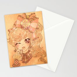 Twisted Candy Stationery Cards