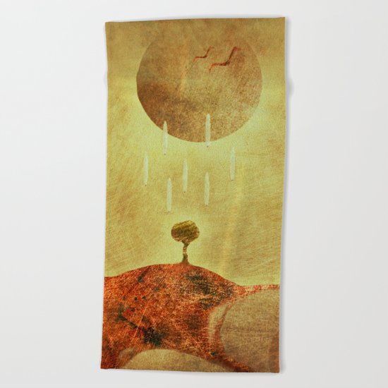 Eternal Giving... Beach Towel
