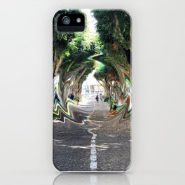 glllitched_september iPhone Case
