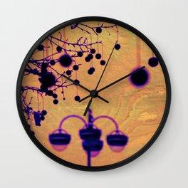 Disco Lamp Wall Clock