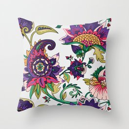 Lovely paisley Throw Pillow