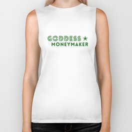 Goddess Moneymaker Biker Tank