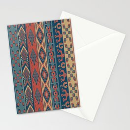 Navajo Geometric Pattern Stationery Cards