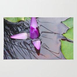 Lotus Emerging by Mandy Ramsey Haines Alaska Rug