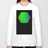 hexagon Long Sleeve T-shirts featuring Hexagon? by FMC!