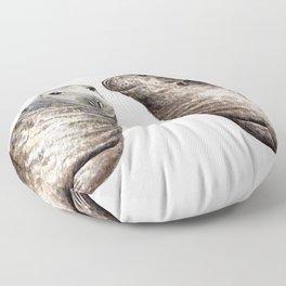 Grey seals(Halichoerus grypus) Floor Pillow