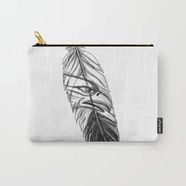 Sea Eagle Feather Tattoo Carry-All Pouch