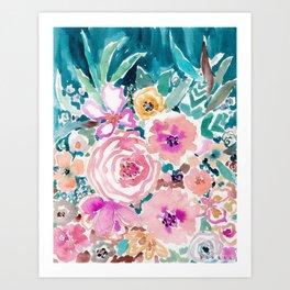 SMELLS LIKE SWEET SALT SPRAY Art Print