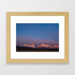 Sublime Sierran Sunrise Framed Art Print