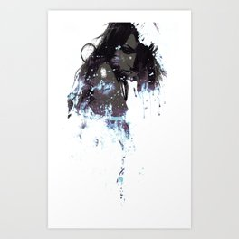 Ashes of a constellation Art Print