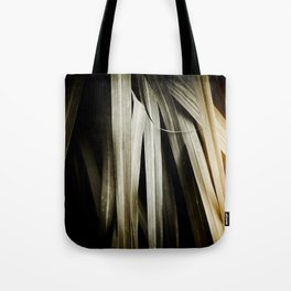 Leafy Grass Detail Tote Bag