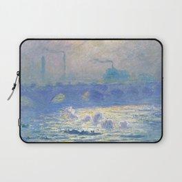 Claude Monet's Waterloo Bridge Laptop Sleeve