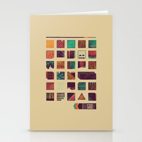 Swatches Stationery Cards