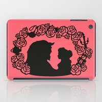 beauty and the beast iPad Cases featuring Beauty and the Beast  by eileenlim