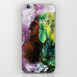 Sweet or Sour // abstract painting iPhone Skin