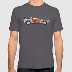 Back to the Body Shop SMALL Asphalt Mens Fitted Tee