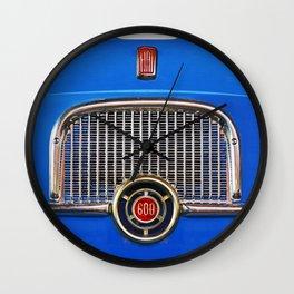 Fiat 600 Wall Clock