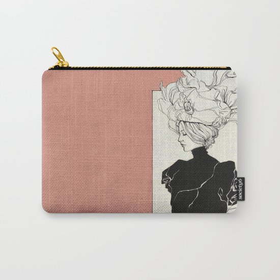 Vintage lady Carry-All Pouch