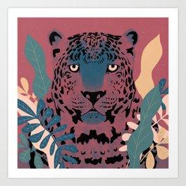 Leopard Prowlin' Art Print