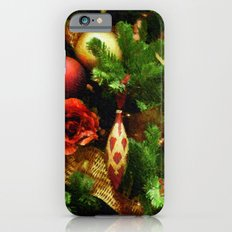 Christmas Garland iPhone 6s Slim Case