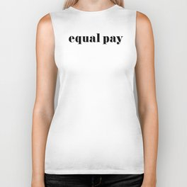 Equal Pay Biker Tank