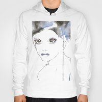 depression Hoodies featuring Depression I by katimarco
