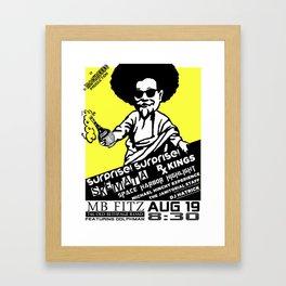 SS Fitz Framed Art Print