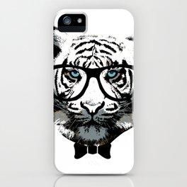 Classy Tiger iPhone Case