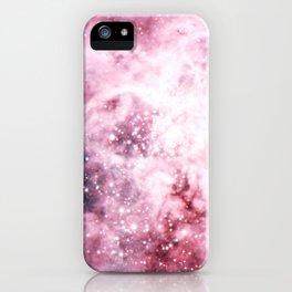 Pink Tarantuala Nebula Core iPhone Case