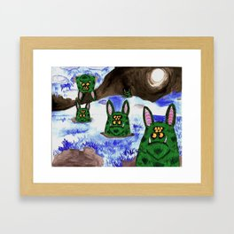 The Thing About Things Framed Art Print