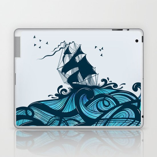 Upon The Sea Laptop & iPad Skin